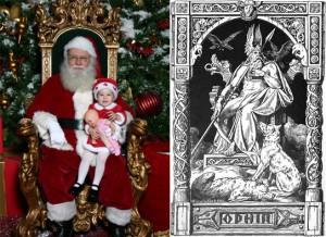 Odin and Santa