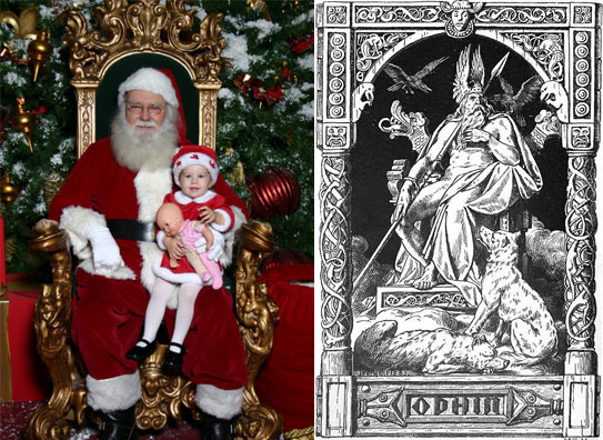 Is Santa Clause Odin? – Irminfolk Odinist Community