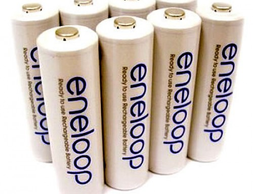 Irminfyrd kit: Rechargable Batteries