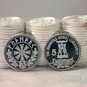 5 futhmark coin.