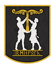 Irminfolk Odinist Community Mobile Logo